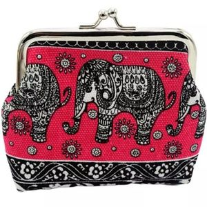 Handbags - Elephant Change Coin Purse